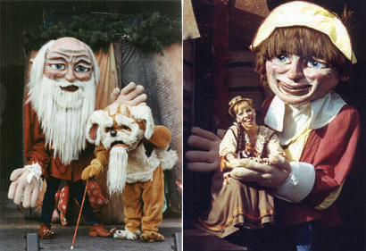 Rip Van Winkle, giant puppet show from Bits 'N Pieces Puppet Theatre