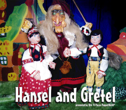 Hansel and Gretel Puppet Show