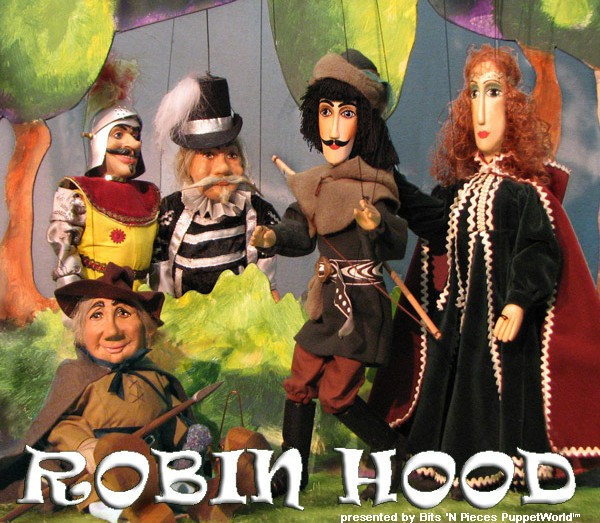 Robin Hood at PuppetWorld