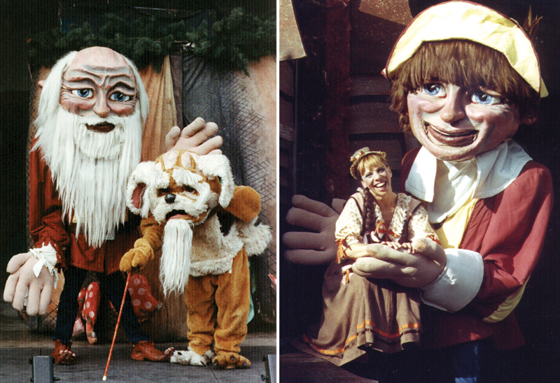 Rip Van Winkle Giant Puppet Show