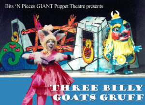 Three Billy Goats Gruff, Bits N Pieces Puppet Theatre