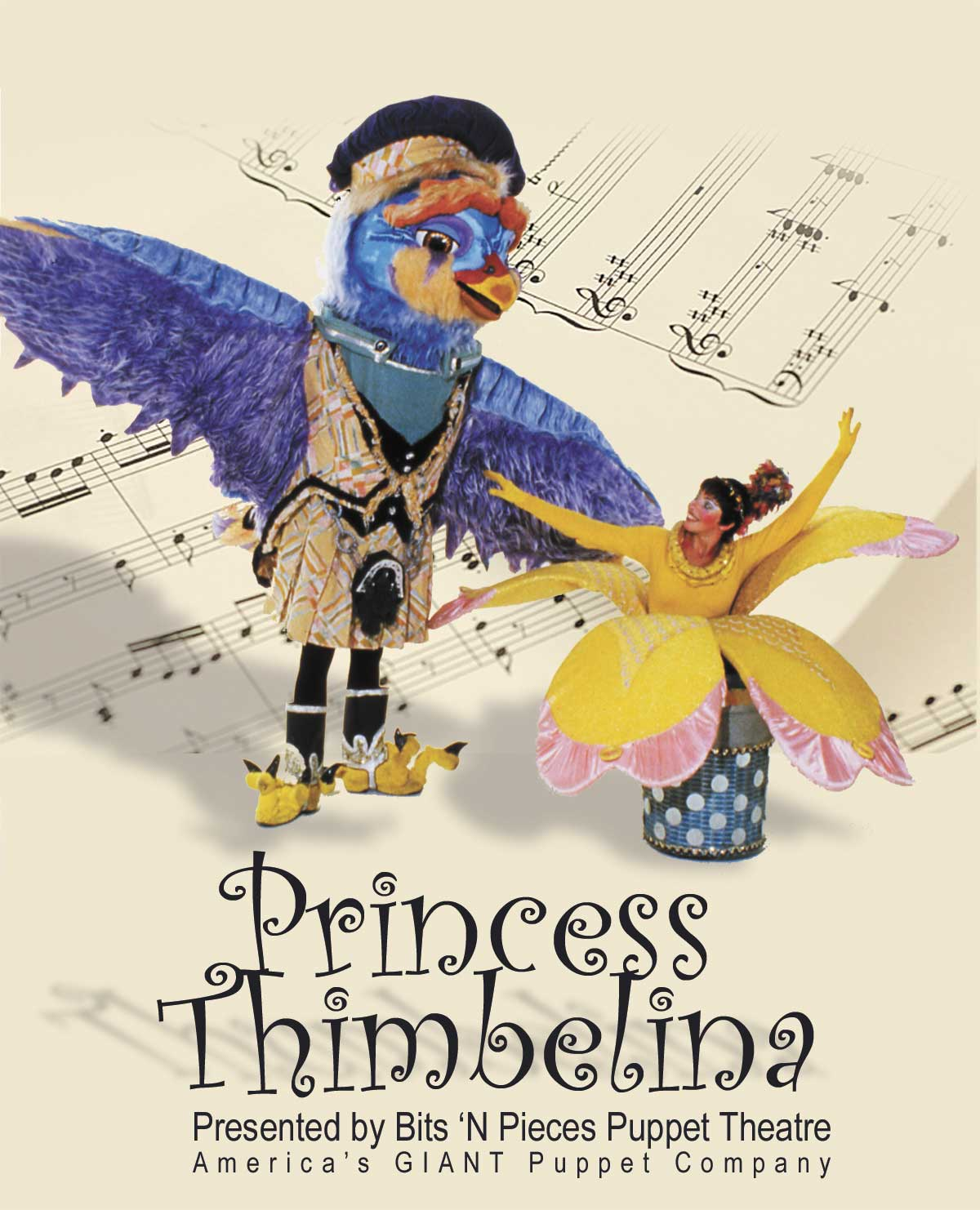 Princess Thimbelina starring Bits 'N Pieces GIANT Puppets!