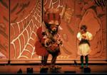 GIANT Puppet Show - Princess Thimbelina and Mole stageshot